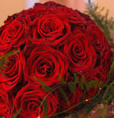Bunch of red roses — Foto de Stock