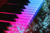 Magic piano — Stock Photo