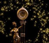 高級アンティークの時計 — ストック写真