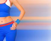 Fitness trainer — Stock Photo