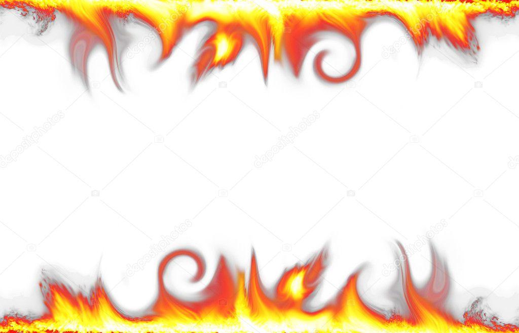 Fire Border Clip Art