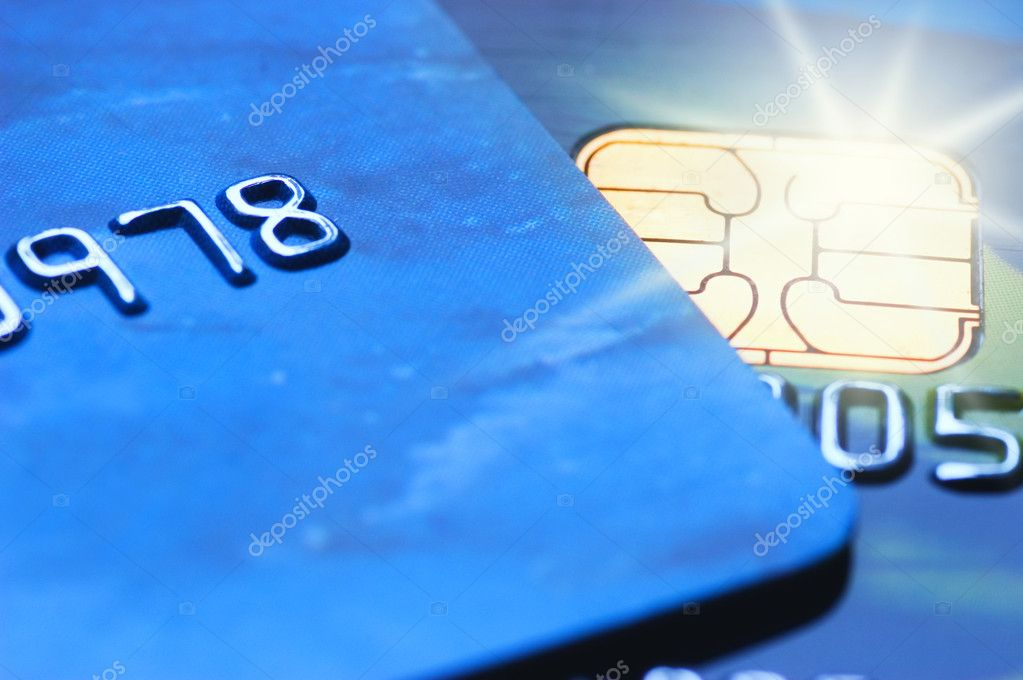 Credit cards (shallow DoF) — Stock Photo #5098396