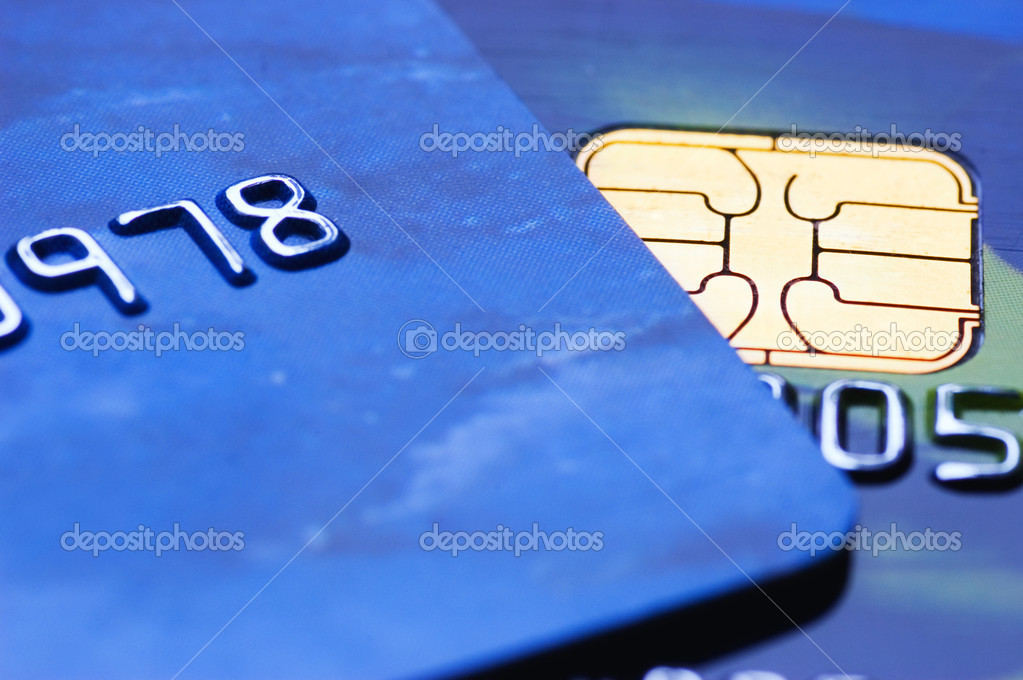 Credit cards (shallow DoF) — Stock Photo #5098420
