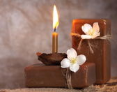 Natural handmade soap. Spa — Stockfoto