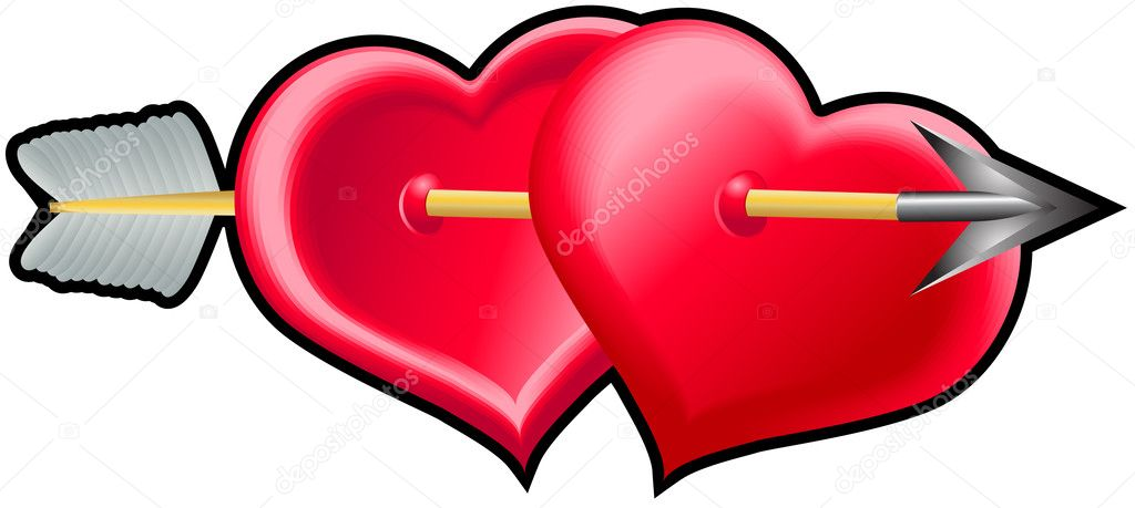 Two heart2 — Stock Vector #2713846