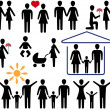 Love and family - Imagen vectorial