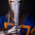 Постер, плакат: Noble knight with sword