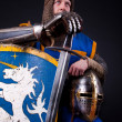 Stock Photo: Picture of crusader