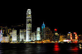 Night view of Hongkong — Stock Photo