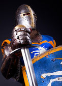 Image of glory knight — Stock Photo