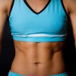 Image of trained body — Stock Photo