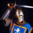 Fighter with sword - Stockfoto