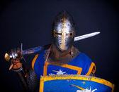 Image of crusader — Stock Photo