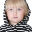 Stockfoto: Nice boy in striped vest
