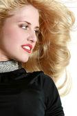 Close-up portrait of beautiful girl — Stock Photo