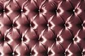 Stylish red silk upholstery — Stock Photo