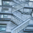 External fire escapes — Stock Photo