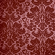 Seamless Gothic Damask wallpaper background - Stock Photo