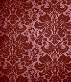 Seamless Gothic Damask wallpaper background — Stock Photo