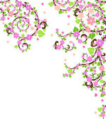 Blossom tree — Stock Vector