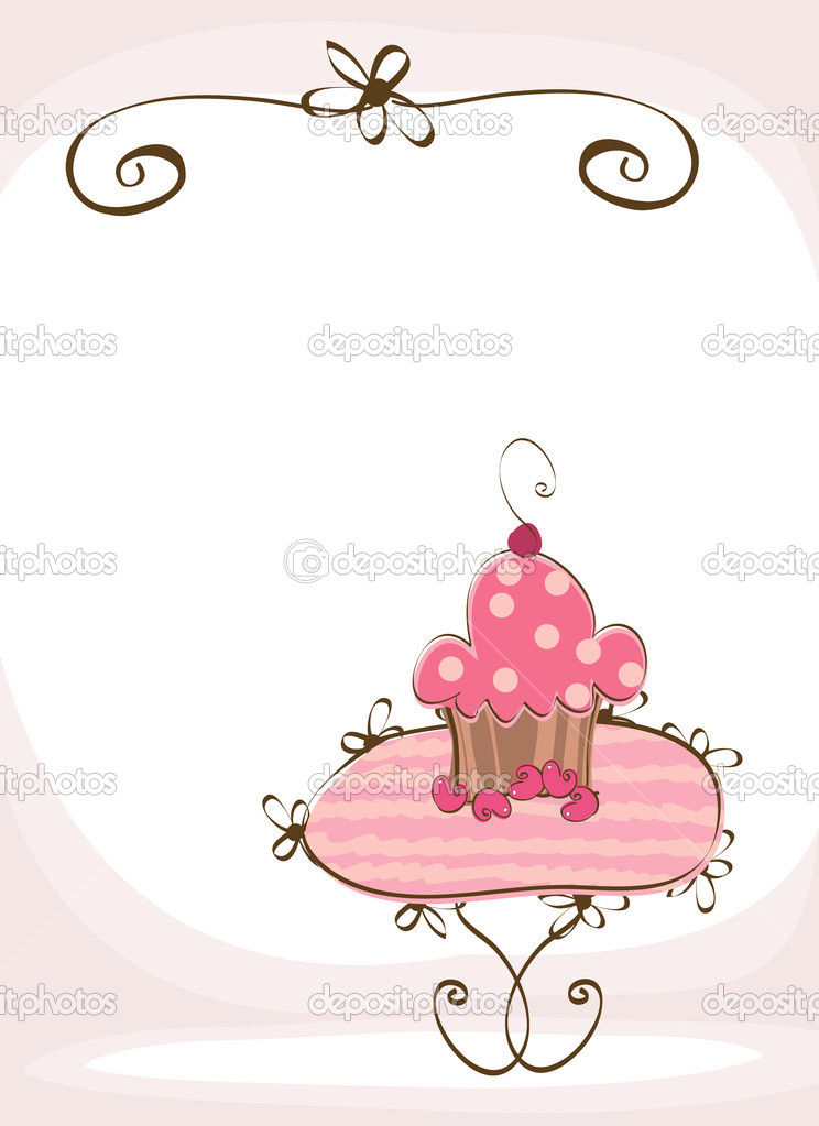 Doodle sweet wedding cake  — Stock Vector #2704966
