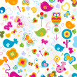 Animals pattern - Stock Photo