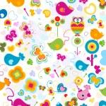 Animals pattern — Stock Photo