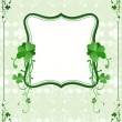 Stock Vector: St. Patrick`s Day frame