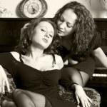 Women's friendship — Stock Photo