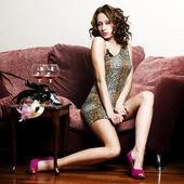Mulher sexy — Fotografia Stock