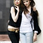 Two beautiful models — Stock Photo