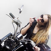 Rock'n'roll girl — Stock Photo