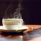 Black coffee. — Stock Photo
