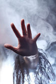 Hand of a witch — Stock Photo