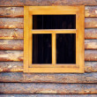 Wooden window - Stock Photo