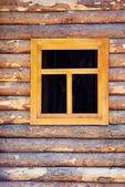 Wooden window — Stock Photo