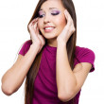 mulher com dor de cabeça forte — Fotografia Stock  #2858784