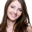 Beautiful smiling young woman — Stock Photo