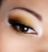 Fashion eye makeup — Stock Photo