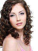 Portrait of beautiful woman — Stock Photo
