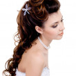 Beautiful wedding hairstyle — Stock Photo #2986882