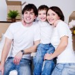 Happy young family — Stock Photo #3468111