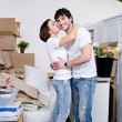 New flat for newly married couple — 图库照片