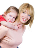 Mother with little girl — Stock Photo