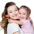Happy mother with daughter — Stock Photo #3664960