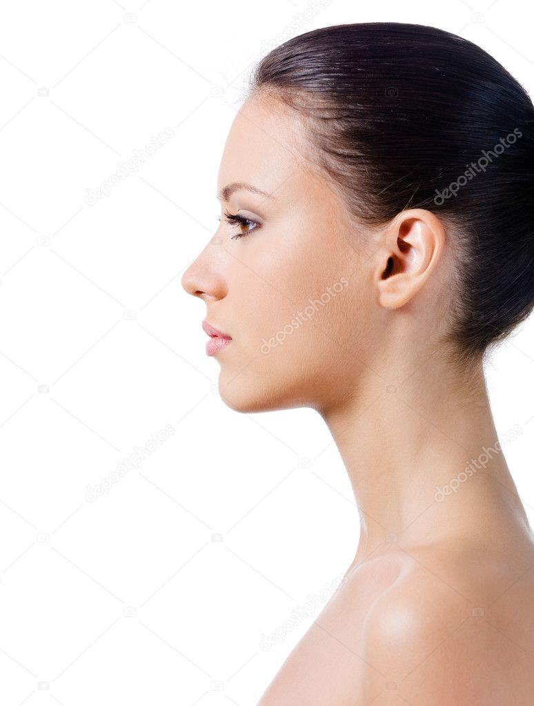 Фото красивых женских профилей 2 фотография
