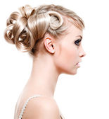Fashion modern hairstyle — Stock Photo