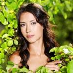 Beautiful sexy woman outdoors — Stock Photo