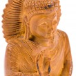 Stock Photo: Netsuke of Buddha