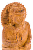 Netsuke of Buddha — Stock Photo
